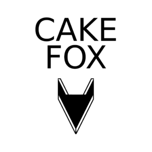 Cake Fox logo by Pieni