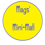 mags' mini mall logo by Maggi