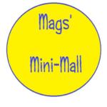 mags' mini mall logo by Maggi