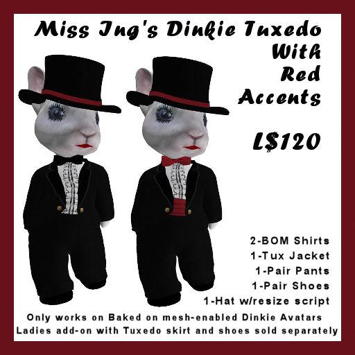 Dinkie tux vendor image
